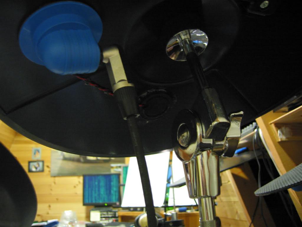 Cymbal pad trigger