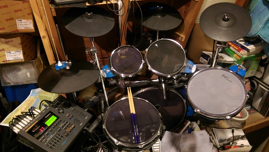 Modded Traps Drums kit and TD10 module