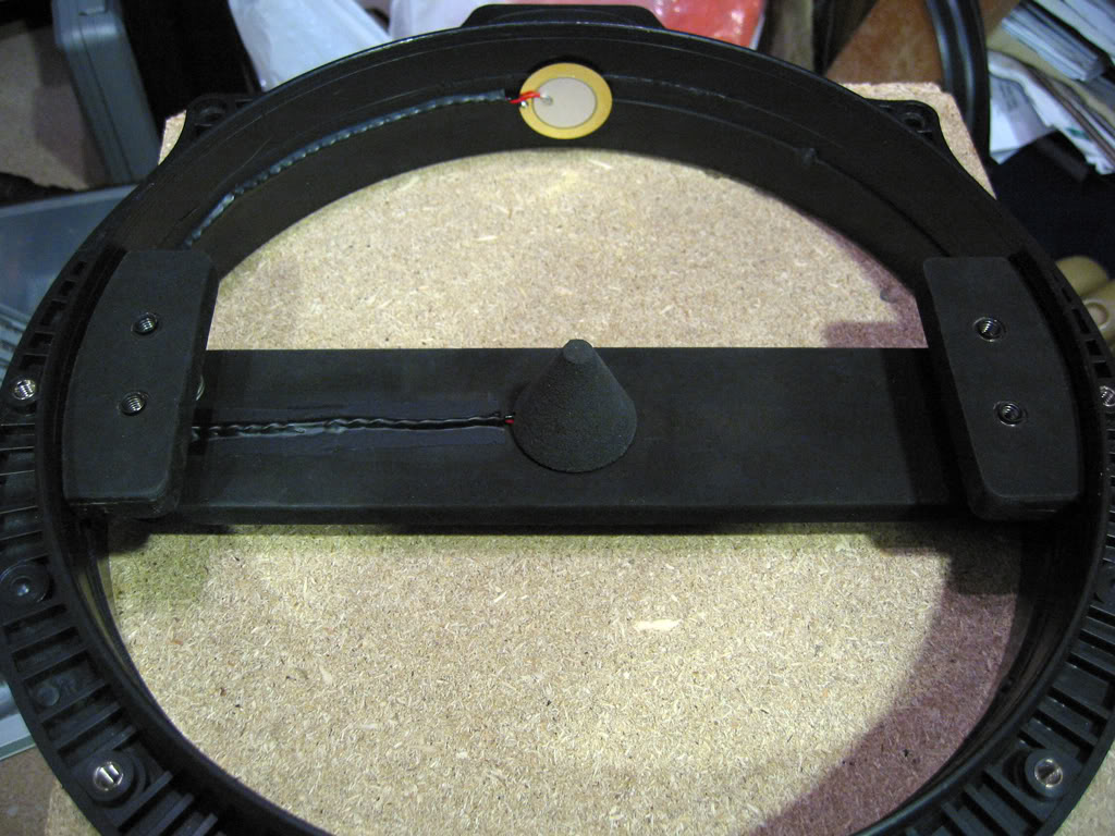 Modded snare trigger