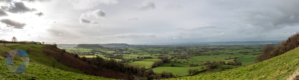 Coaley Peak Panorama