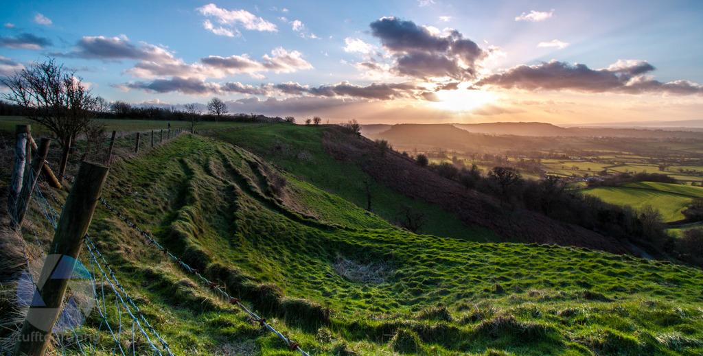 Coaley Peak Sunset