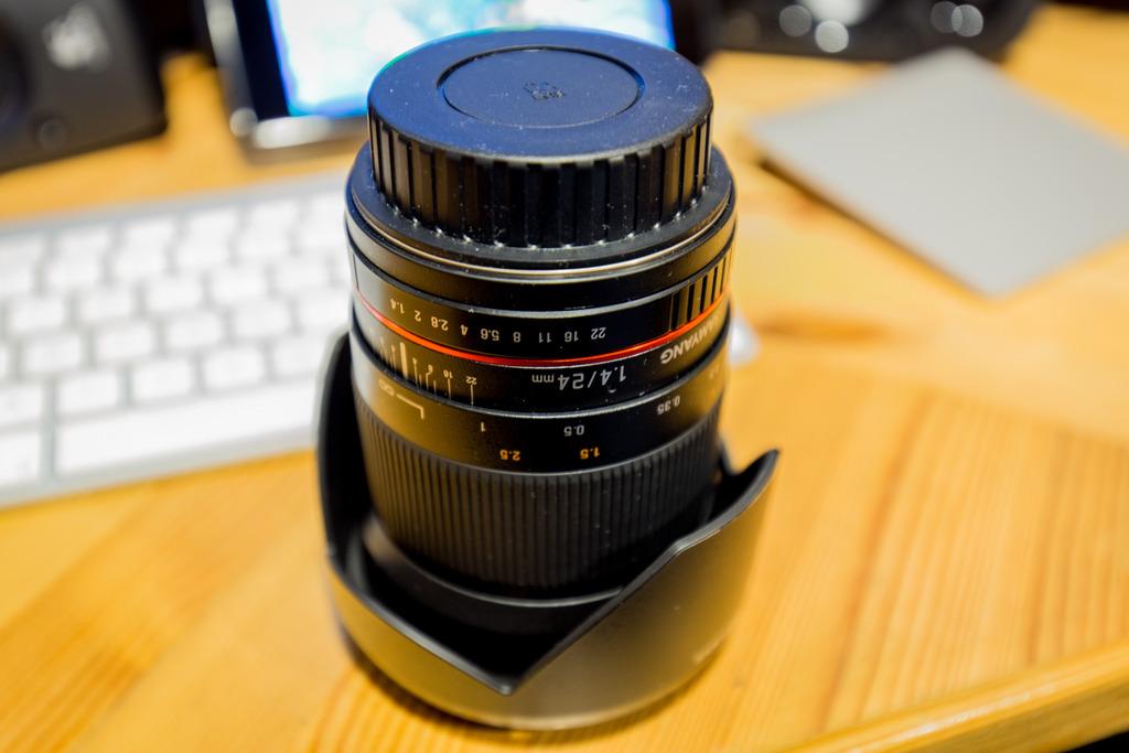 Samyang 24mm f1.4