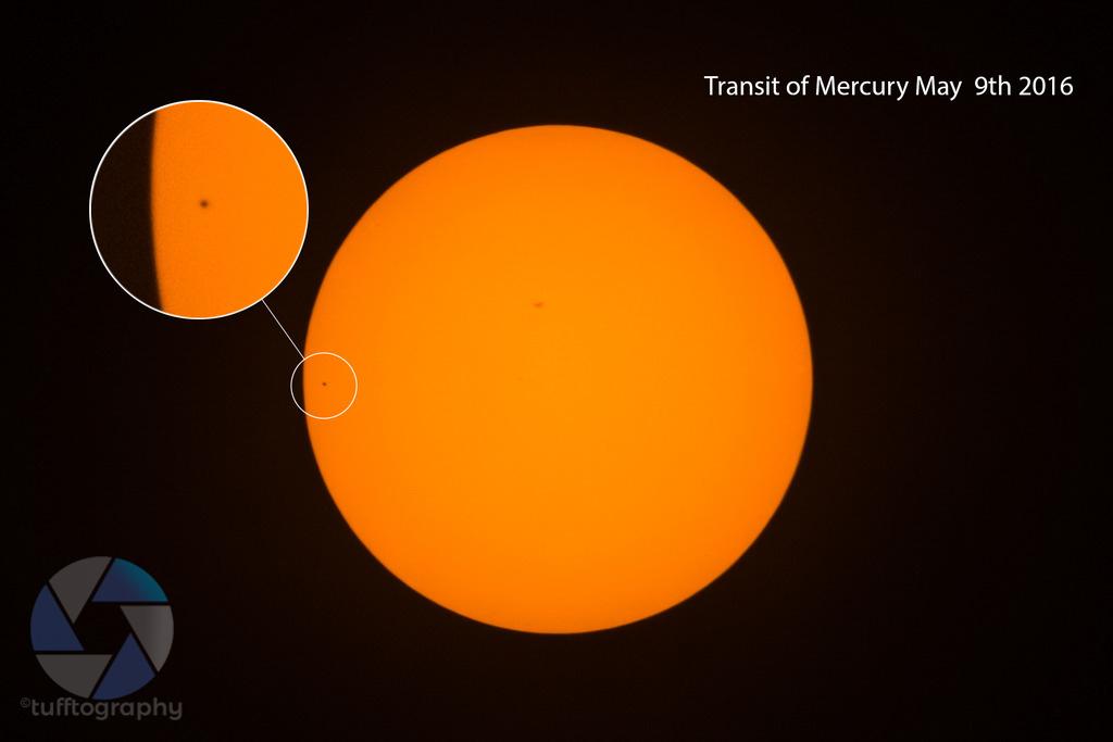 Mercury's transit across the sun