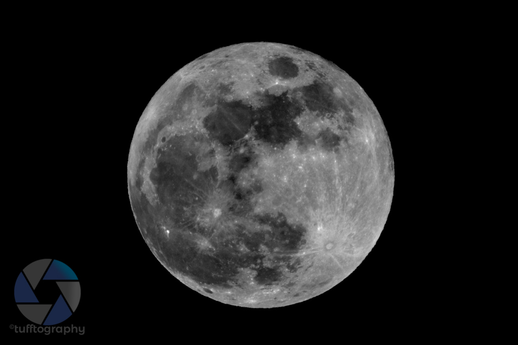 Full moon - Canon 50d