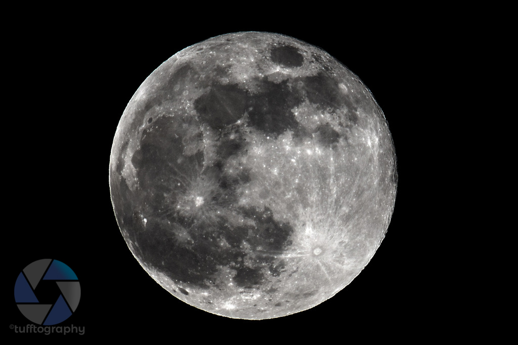 Full moon - Canon 6D